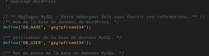 Ce site rencontre des difficultés techniques. - WPFR