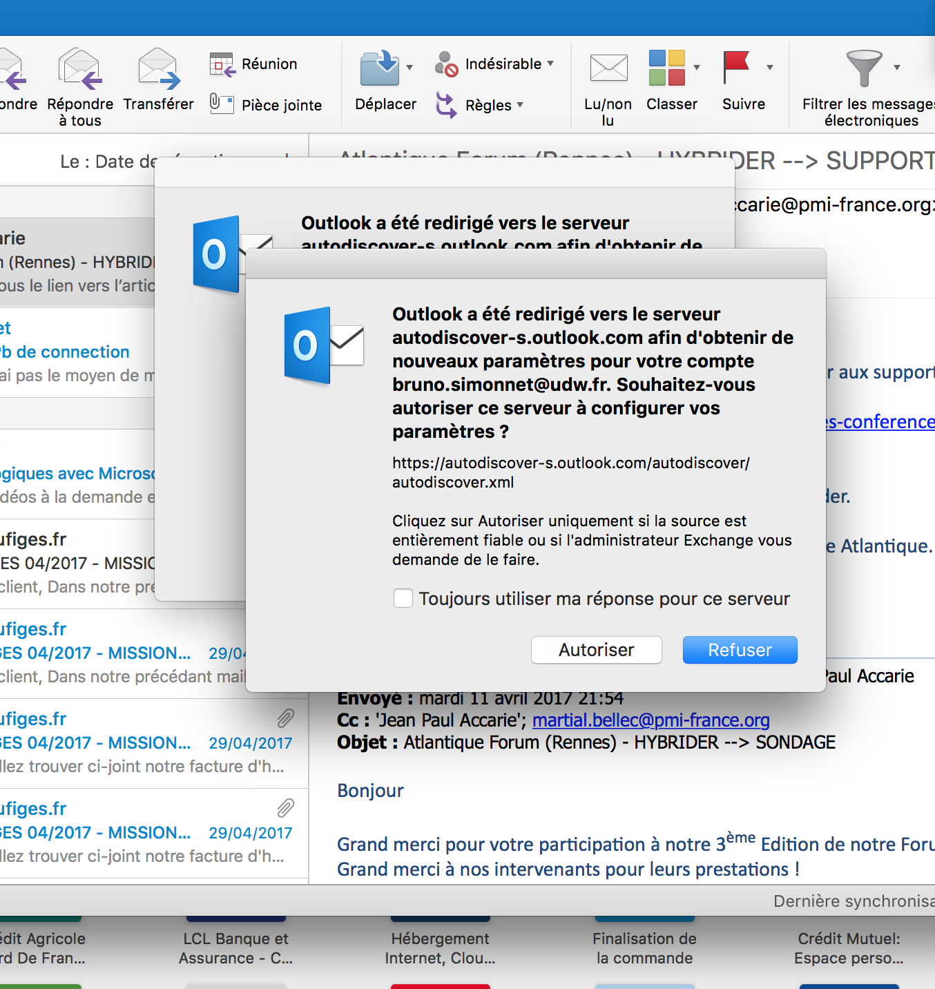 synchronisationsprobleme outlook 2013