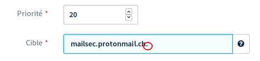 ProtonMail setup : MX errors - Noms de domaine - OVH Community